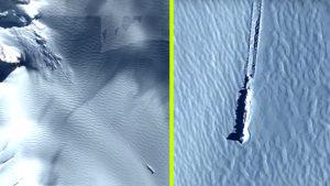 UFO kényszer leszállás nyomaira bukkantak az Antarktiszon?