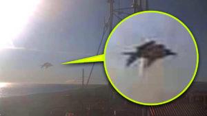 Száguldó UFO-t vett fel egy alaszkai reptér időjárási kamerája