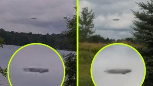 Többen is ugyanazt az óriási UFO-t videózták egymástól 1000 km-re