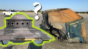 Hatalmas UFO-roncsot mosott parta a víz Dél-Karolinában