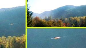 Véletlenül fotózták le a rejtélyes aranyszínű repülő korongot