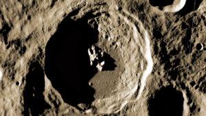 Végre egy éles fotóra bukkantak a Holdon parkoló UFO-ról