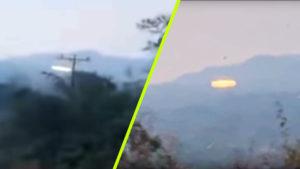 UFO-landolást vettek videóra Venezuelában