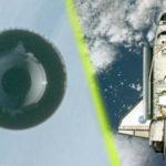 Közeli fotó került elő az Atlantis űrrepülőgépet követő egyik UFO-ról