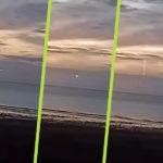 UFO repült be a webkamerás naplemente közvetítésbe